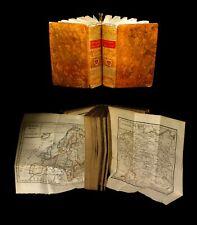[ATLAS MAPS] NICOLLE de la CROIX - Géographie moderne. 2/2.