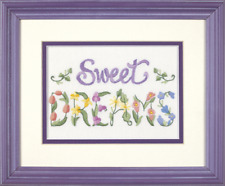 Dimensions D06235 | Flowery Sweet Dreams Picture Crewel Embroidery Kit 18 X 13cm