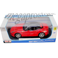 Maisto Ferrari California T Closed Top 1:18 Diecast Model Car Red