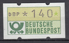 BRD 1981 distributori automatici-freim ARKE 140er post freschi gomma gialla senza n. (21385)