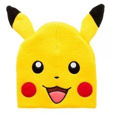 Pokemon Pikachu Beanie with Ears New BIOWORLD