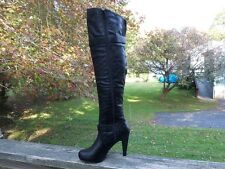 New Authentic Guess Tall Over The Knee Boots By Marciano Tarmatic Size 5.5