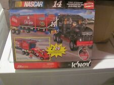 K'Nex Tony Stewart Transporter Rig Building set Mint in Sealed box