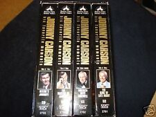 Johnny Carson: His Favorite Moments From Tonight Show Box Set (1994 4-VHS Set)