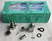 Mecaniques Kluson Tele Strat  6 EN LIGNE petit bouton rond 1:18 MK6LN