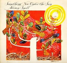 ADRIAN SNELL something new under the sun DOVE 63 yellow vinyl + poster LP EX/EX