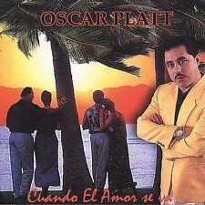 Platt, Oscar : Cuando El Amor Se Va CD