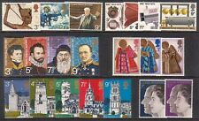 1972 COMPLETE COMMEMORATIVE YEAR SET ( 6 SETS ) UNMOUNTED MINT