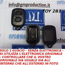 SOLO GUSCIO COVER PER TELECOMANDO TOYOTA A 2 TASTI SOLE SE COME IN FOTO