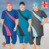 AlHamra AL3049 Semi Cover Burkini Modest Women Swimsuit Muslim Plus Size 3XL-6XL