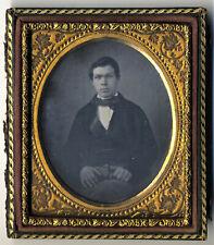 very handsome young man daguerreotype