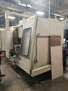 "Mori Seiki | MV-55/50 | Vertical Machining Center | Tsudakoma 12"" Rotary"