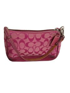 Coach AUTHENTIC Small hand bag Pink