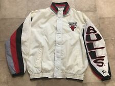 90s VTG Chicago Bulls Colorblock Windbreaker Mens L Jacket Logo Jordan Starter