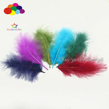 36 colour 100pcs 10-15cm / 4-6 inch Turkey Feather DIY Craft Plumage Carnival