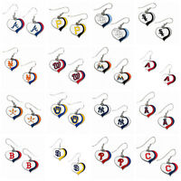 MLB Aminco Dangle Earrings All Teams Official Licensed - Pick Your Team!