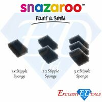 Snazaroo Stipple Sponges - Face & Body Make Up - Special Effects FX Kit