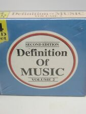 SEALED 4 CD SET DEFINATION OF MUSIC VOLUME 2 ELECTRIC BLUES,REGGAE,BLUEGRASS,