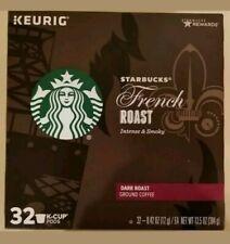 Starbucks Coffee Keurig K-Cups, French Roast Dark 32 Count