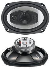 Car Audio 500 Watt (Per Pair) 6 x 9 Inch Full Range 4 Way 4 Ohms Car Speakers