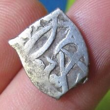 awe 1665-1700 PIRATE COB SPANISH 1/2 Real Colonial Silver Coin Carlos CHARLES II