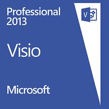 Microsoft Visio 2013 Professional. 32/64 bit.