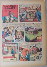 Lone Ranger Sunday Page by Fran Striker and Charles Flanders from 7/31/1955