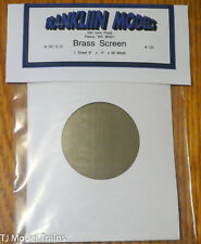 Franklin Models #101 Brass Screen (80 Mesh)