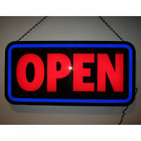 Big New LED Open sign Great for Home Bar to show the bar is open neon neonetics