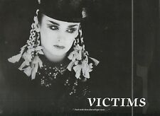 """CULTURE CLUB, VICTIMS / COLOUR BY NUMBERS 1983 12""""x45rpm MAXI SINGLE RECORD NMC"""