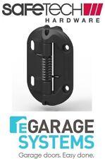 Safetech Fixed Tension Gate Hinge Self-Closing 2 x Leg Black Per Pair SHF-90L