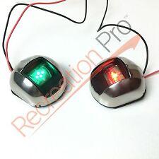 NEW Perfit 12v LED Vertical Navigation Sidelights 1NM for boat/pontoon