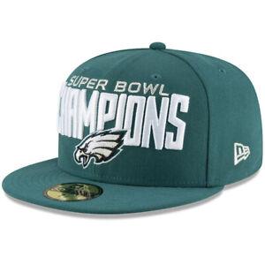 NEW ERA NFL Philadelphia Eagles 59FIFTY Super Bowl LII Champions Fitted Hat Cap