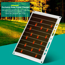 5V 10W 2000mAh USB Solar Panel Mobile Phone Power Charger Outdoor Charging Board