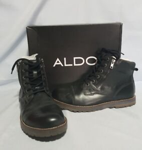 New ALDO Leather Boots Size US9.5, EU42.5, UK8.5 $139.99