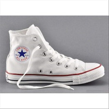 Chaussures CONVERSE ALL STARS - hi wht-44
