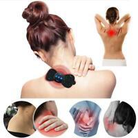 Tragbare mini elektrische nackenmassagegerät zervikale massage stimulator schmer