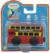 THOMAS THE TANK & FRIENDS-BULGY THE BUS BERTIE TRAIN W/COLLECTOR CARD *NEW*2005*