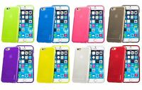 Juppa® Ultra Strong Rubber TPU Gel Case Cover for Apple iPhone 6s 4.7 Inch 2015