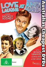 Love Laughs At Andy Hardy DVD NEW, FREE POSTAGE WITHIN AUSTRALIA REGION ALL