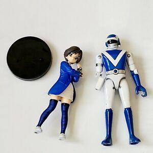 Choujyu Sentai LIVEMAN BLUE DOLPHIN Chogokin Due Cast Bandai Power Rangers Junk