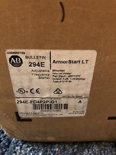 -New- Allen Bradley 294E-FD4P2P-G1 ARMORSTART LT Variable Motor Controller 480V