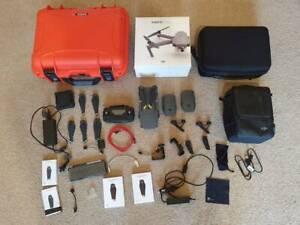 DJI Mavic Pro Fly More Combo with Extras - PolarPro, Cases, Mounts...
