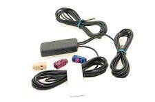 Alda PQ Scheibenantenne für GSM,UMTS,GPS,WIFI,BT mit FAKRA Steckern und 3m Kabel