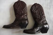 TONY MORA M 752 echt Leder Boots Cowboy Western Stiefel braun Gr 38 UK 5 Top S38