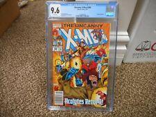 Uncanny X-Men 298 cgc 9.6 Newsstand variant Gambit Bishop cover NM MINT WHITE pg
