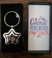 Relay For Life American Cancer Society Star Key Chain