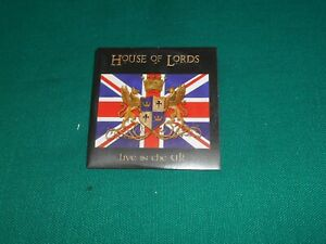 House Of Lords  – Live In The UK   CD, Album, Promo, Cardsleeve