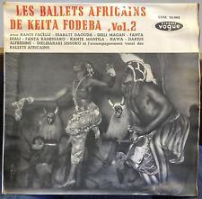 KEITA FODEBA les ballets africains de vol 2 LP Mint- LDM 30.082 Vogue 1960 Mono