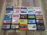 Nintendo Famicom Lot of 20 piece Sqoon Dr.Mario NES T787